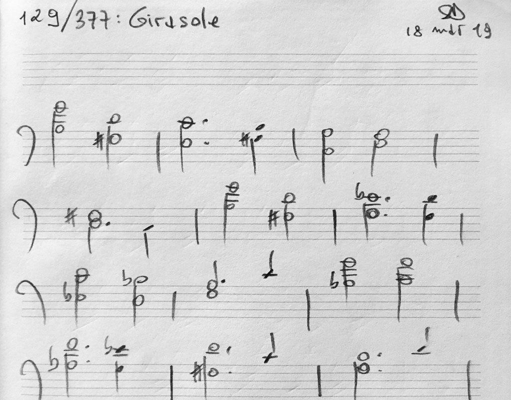 129-Girasole-score