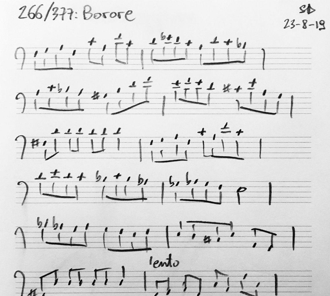 266-Borore-score