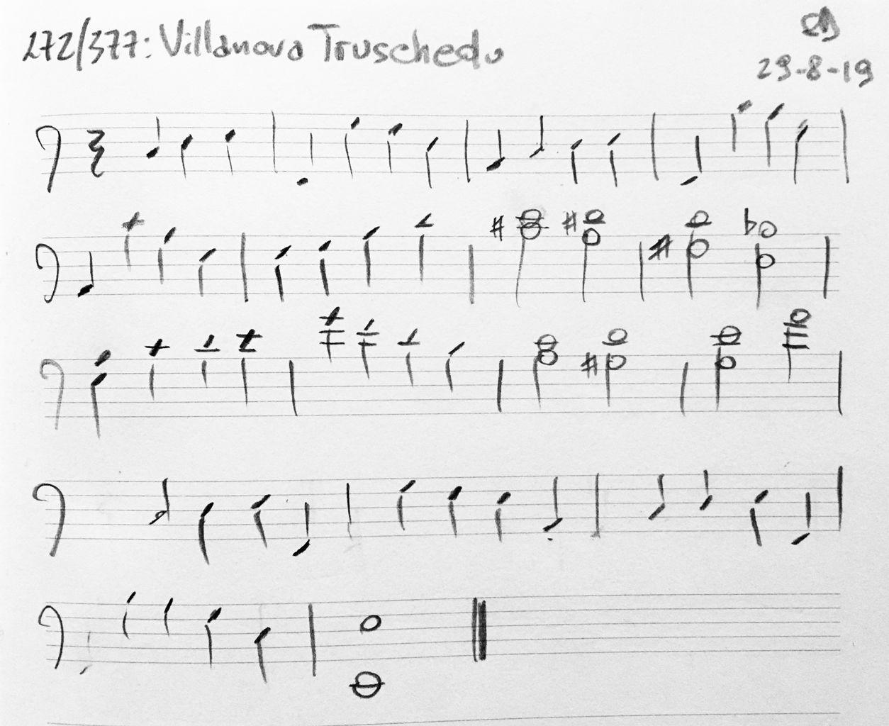 272-Villanova-Truschedu-score